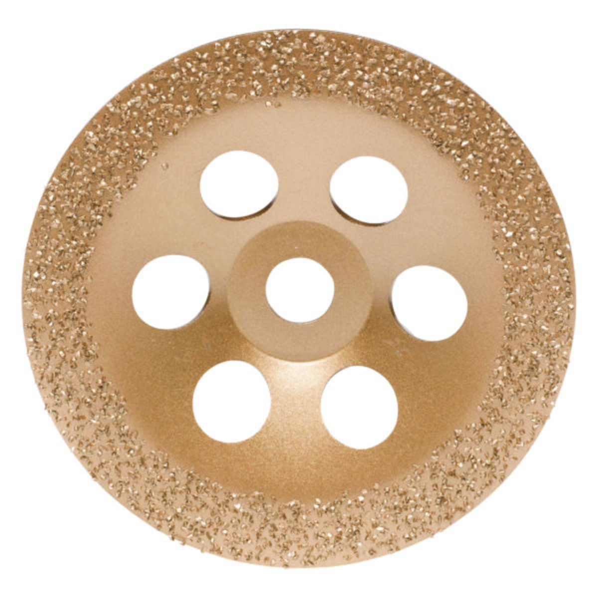Flat Disc flat - 180 x 22,2 mm - Grit 24 - for angel grinder